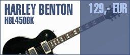Harley Benton L-450 BK Classic Series