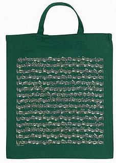 Vienna World Cotton Bag Green
