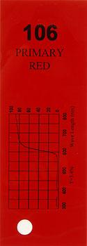 Q-Max Farbfolie Nr. 106 Primary Red