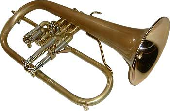 Eclipse Red Bell Flugelhorn