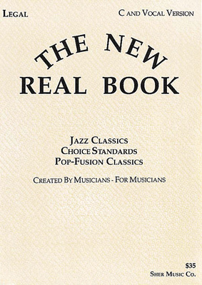 AMA Verlag The New Real Book C and Vocal
