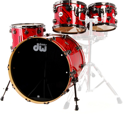 DW Finish Ply -Red Twisted Lava
