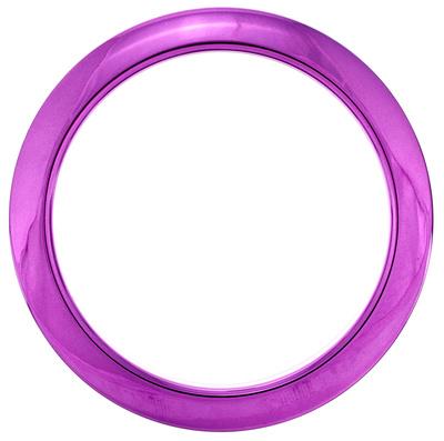 "Bass Drum O's 4"" Purple Chrome round HCP4"